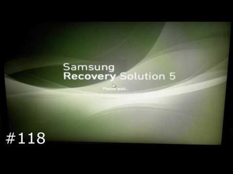 Восстановление заводского Windows 7/8/10 на ноутбуках Samsung (Samsung Recovery Solution)