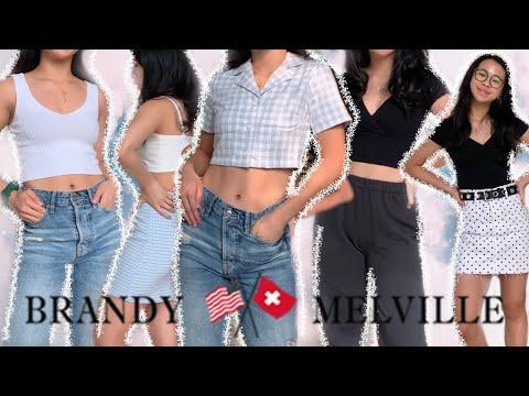 Huge Brandy Melville Try On Haul thumbnail