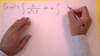 İntegral 4 Şenol Hoca Matematik