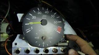 Подключение тахометра на дизель Мерседес ,часть №2