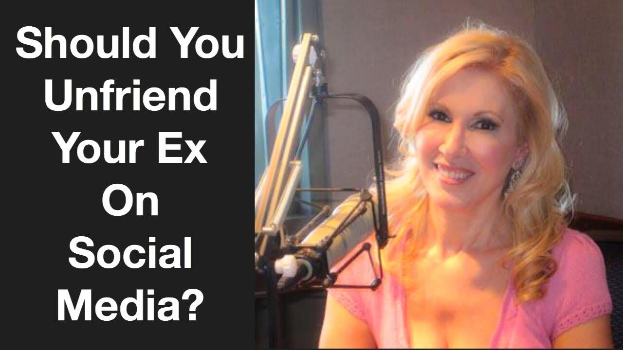 Should You Unfriend Your Ex on Social Media?