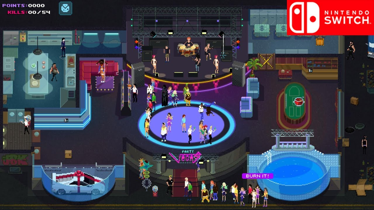 Image result for party hard switch