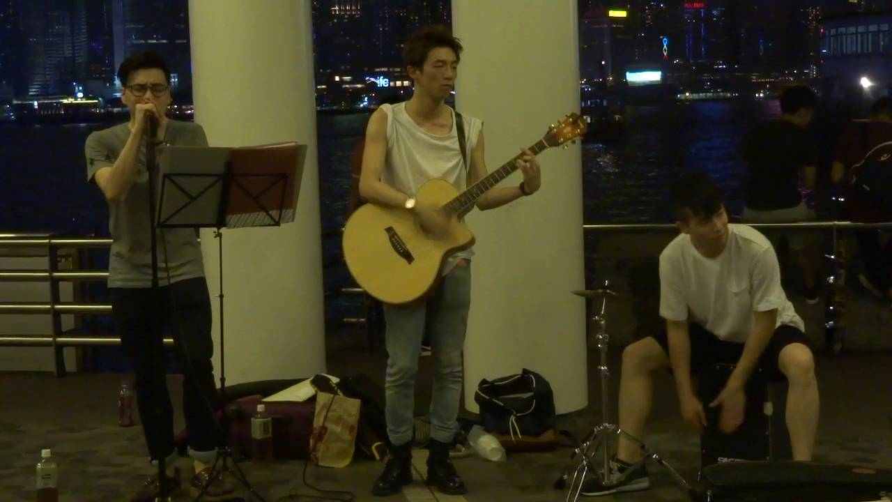 Kolor - 圍城 (Cover by Interacts) @尖沙咀海旁 2016.05.28 - YouTube