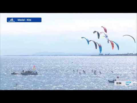 2016 Sailing World Cup Final Melbourne - Formula Kite Medal Race 1