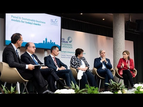 Second Forum Banking Supervision - Panel 2: Sustainable business models for today's banks