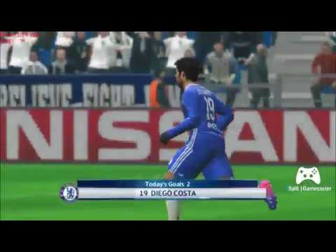PES17 Tottenham Vs Chelsea Incredible Goal Thriller at White Hart Lane