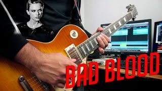 Taylor Swift - Bad blood | electric guitar rock cover (instrumental)