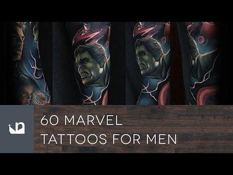 60 Marvel Tattoos For Men
