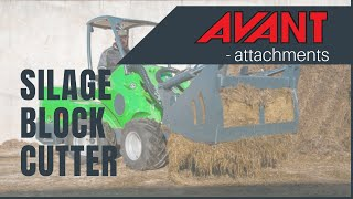 Silage block cutter, Avant 300-700 Series attachment Thumbnail