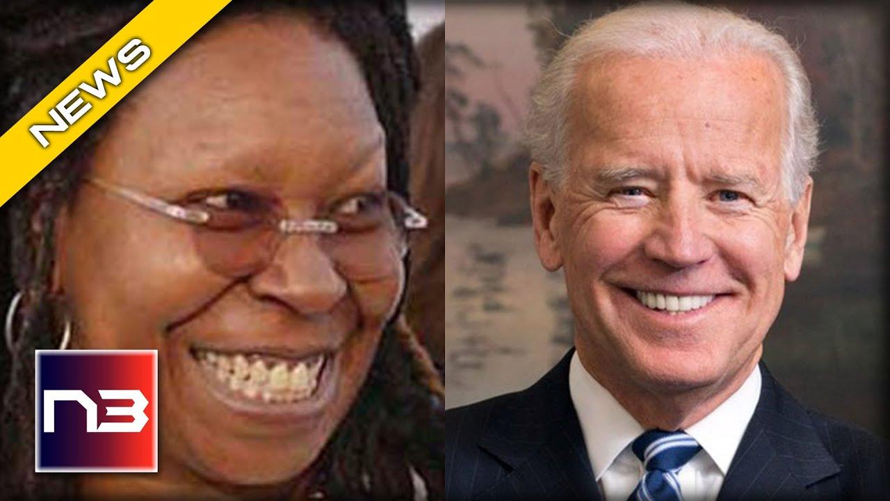 Download YUCK! Whoopi Goldberg GUSHES over Joe Biden with Creepy Video Compilation