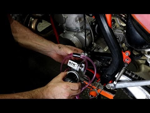 2017 Husqvarna TE300 High Output 100W Stator Install by