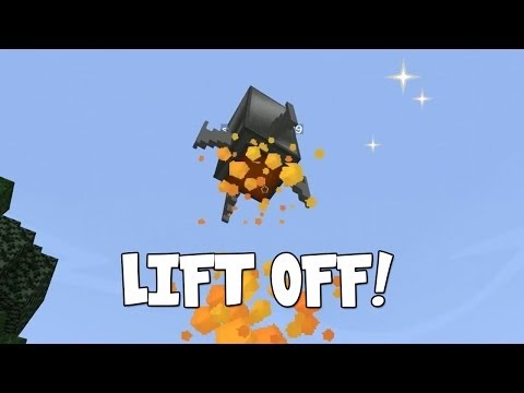 Minecraft - Race To The Moon - Lift Off! [53]