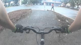 Bike Vlog ao estilo Galvão Bueno