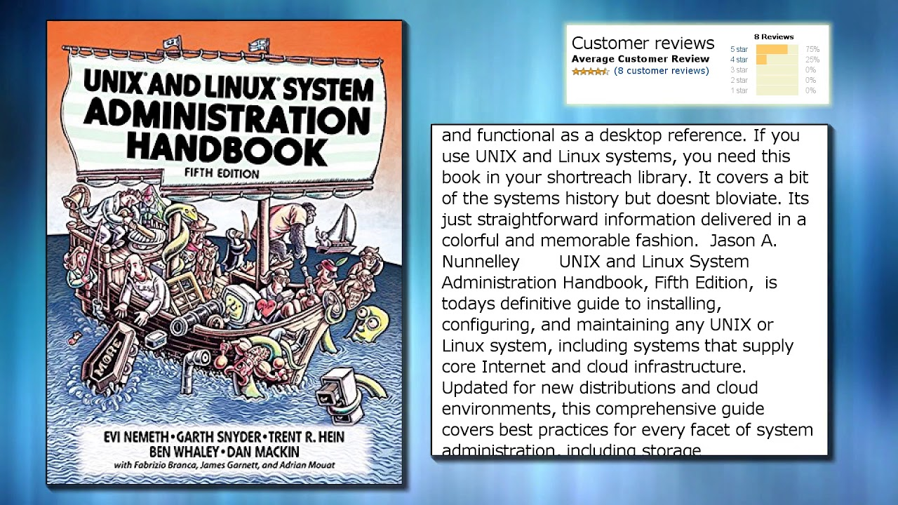 Unix and linux system administration handbook 5th edition youtube unix and linux system administration handbook 5th edition baditri Images