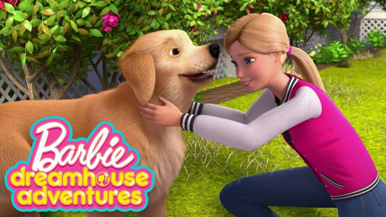 LA MALEDIZIONE DEL FANTASMA DEL MINATORE | Barbie Dreamhouse Adventures | Barbie Italiano