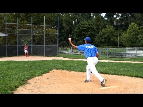How To Pitch Curveball