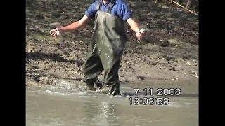КАРАСЯ і ловлять руками ! Рибалка. Магістральний канал, Адигея. Листопад. На вудку не клювало !