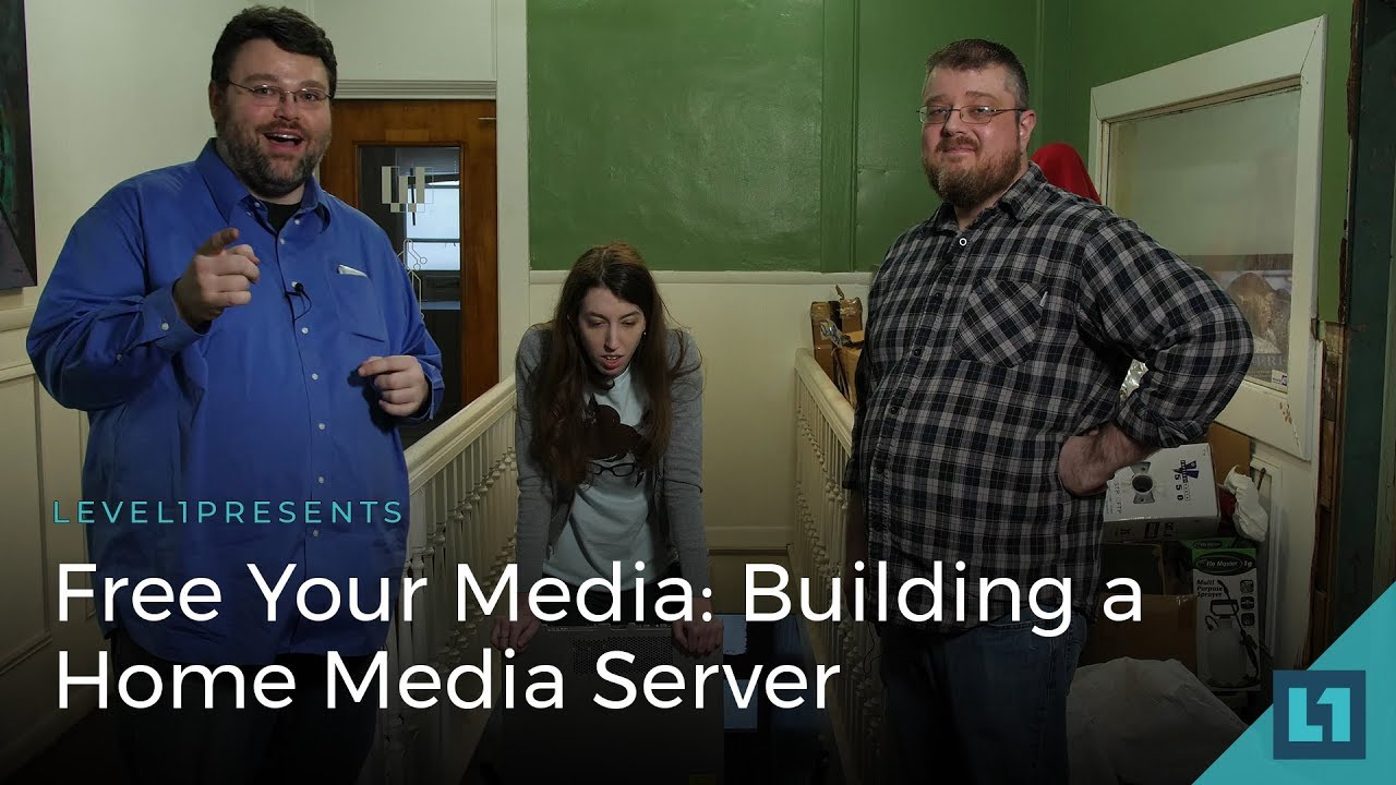 Free Your Media: How to Build a Home Media Server