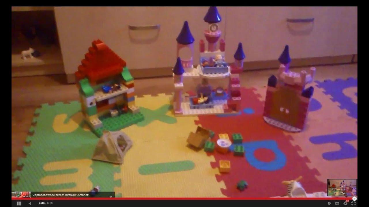 Zabawa Klockami Lego Duplo Zamek Zoo Safari Play Lego Blocks