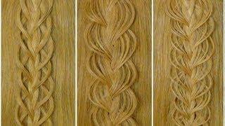 видео Плетение кос на длинные волосы, плетение косичек