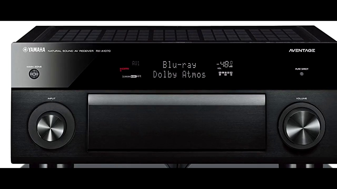 home theater receiver review yamaha rxa 1070 review youtube. Black Bedroom Furniture Sets. Home Design Ideas
