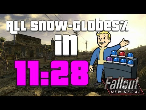 Fallout New Vegas Globe trotter% (All Snow-Globes) in 11:28 (itsjabo)