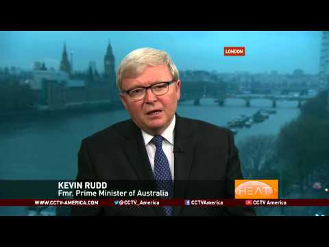 Former Australian PM Kevin Rudd discusses the free trade between China, Australia