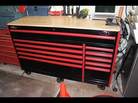 Tool Box Drawer Trim