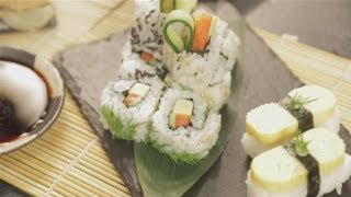 How To Prepare Vegetarian Sushi From Scratch