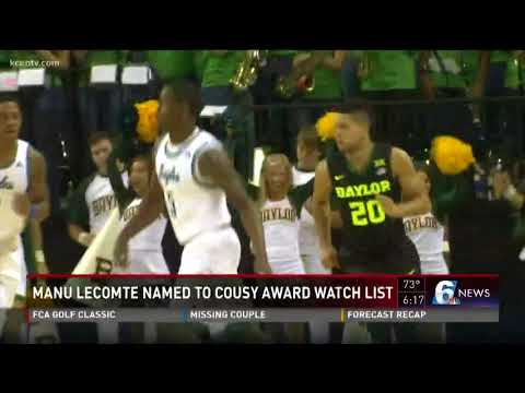 Manu Lecomte named to Cousy Award watch list