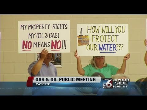 Public meeting on oil and gas issues