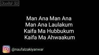 Gambar cover Az Zahir - Man Ana Laulakum (Lirik Indonesia)