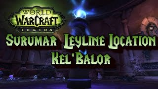 WoW Legion: Surumar Leyline Bling - Kel'Balor