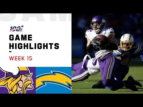 Vikings vs. Chargers Week 15 Highlights | NFL 2019