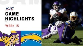 Vikings vs. Chargers Week 15 Highlights   NFL 2019