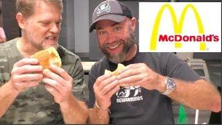 McDonalds Scrambled Sensation Breakfast Burger Review Malaysia