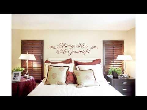 Bed wall decor ideas