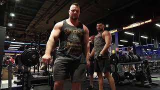 Просто тренировка с Михалычем и Андреем