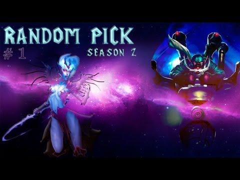видео: dota 2 random pick Второй Сезон. Часть 1. Триумфальное Возвращение