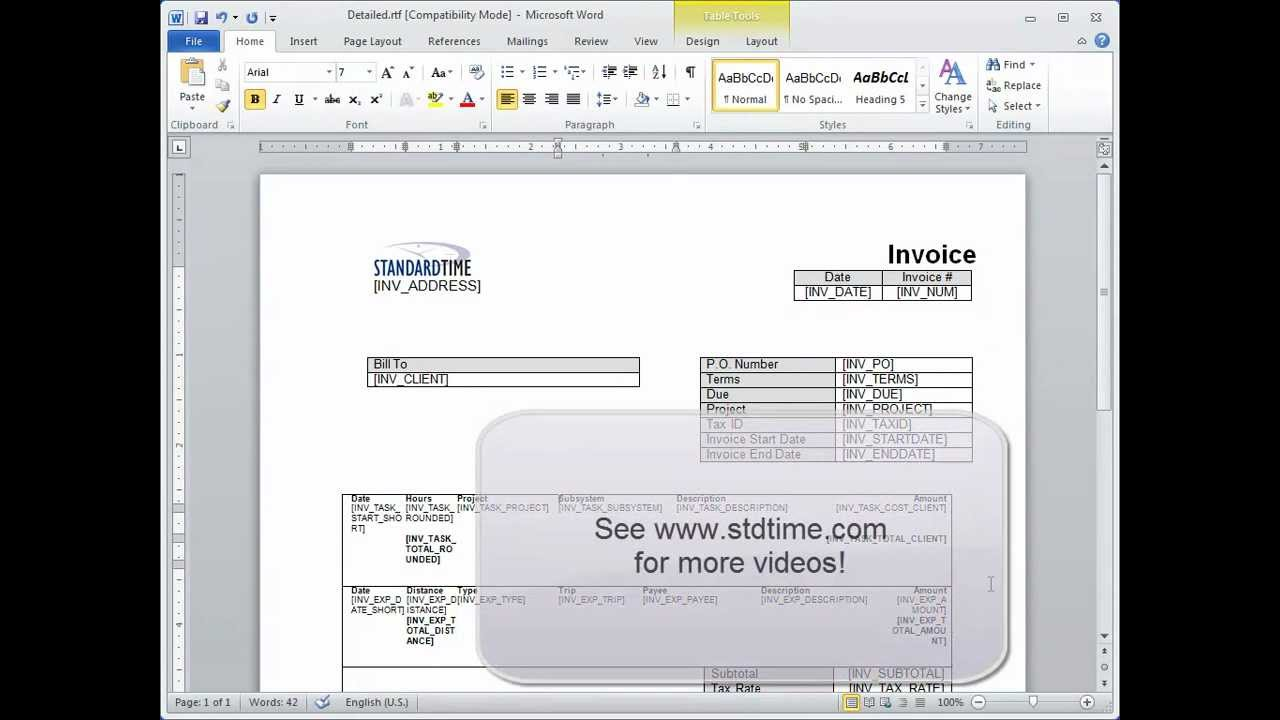 Contractor Invoices Customizing Invoice Templates  Youtube Army Hand Receipt Form Pdf with How Does Invoice Factoring Work Pdf Customizing Invoice Templates Walmart Receipt Lookup Online Excel