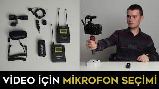Video Çekimleri için Mikrofon Seçimi