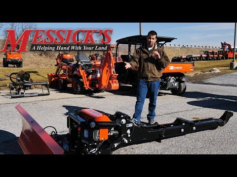 How to install Kubota Grand L6060 L4554 auto hitch and sub-frame