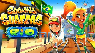 Subway Surfers World Tour Brazil - Rio De Janeiro New Update! Subway Surfers Rio (Olympic 2016)