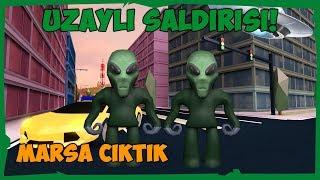 ❤️ UFO İLE MARSA ÇIKTIK VE GİZEMLER !! ❤️ / Roblox Jailbreak / FarukTPC