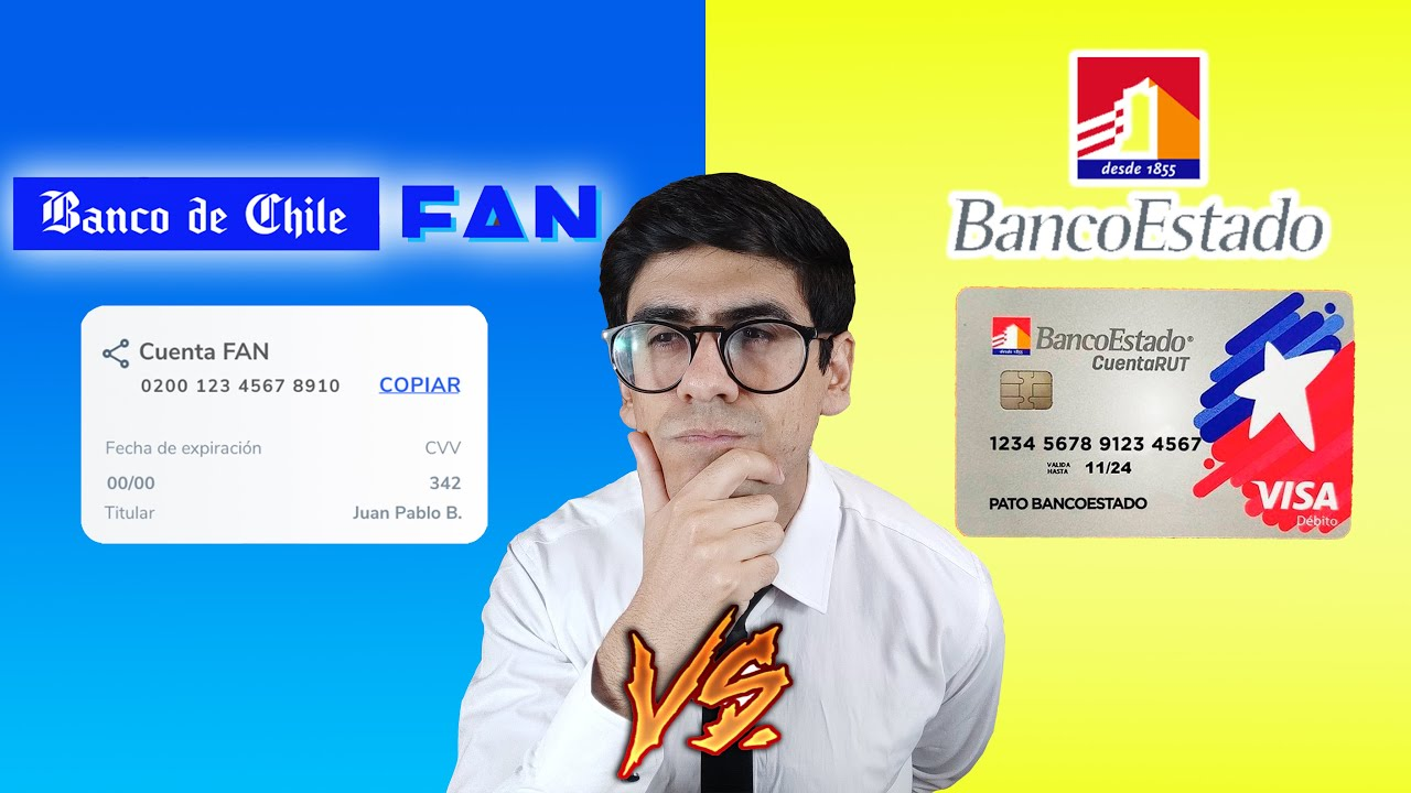 🔥CUENTA FAN Banco de Chile V/S CUENTA RUT VISA Banco Estado🔥