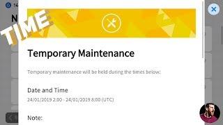 Tomorrow temporary maintenance Indian time