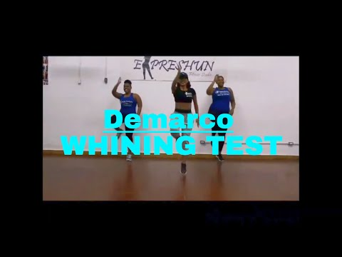 "Dance Routine  Demarco ""whining test"""