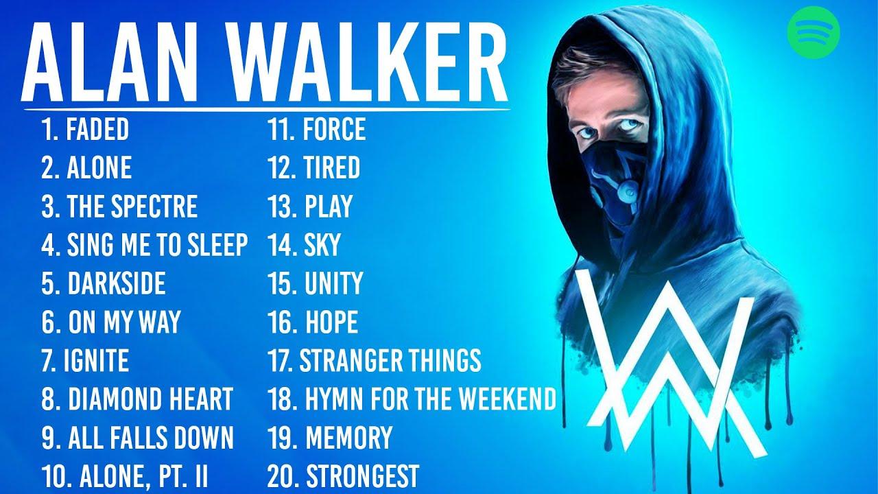 AlanWalker  Greatest Hits 2021  TOP 100 Songs of the Weeks 2021 Best Playlist Full Album