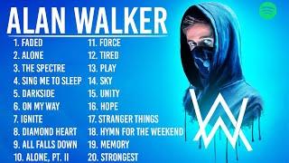 AlanWalker - Greatest Hits 2021 | TOP 100 Songs of the Weeks 2021, Best Playlist Full Album