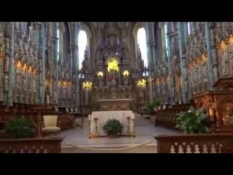 Ottawa, Ontario, Canada - Notre-Dame Cathedral Basilica HD (2015)